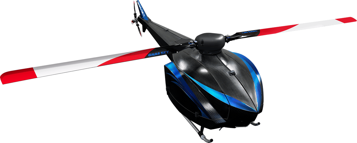 SINGLE ROOTOR HELICOPTER